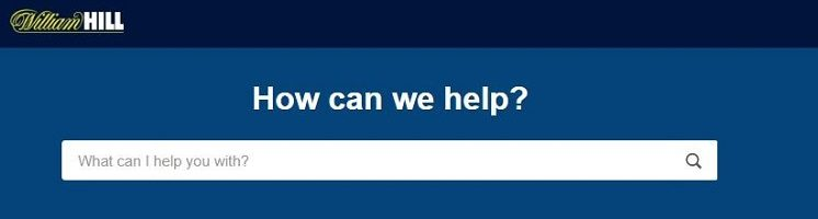 William Hill customer care