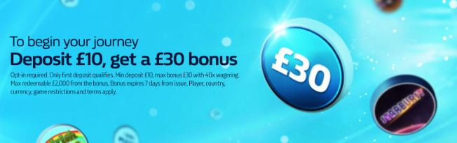 William Hill Games welcome bonus